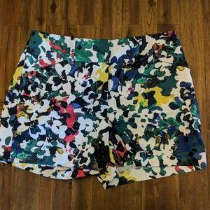 Ann Taylor Floral Shorts